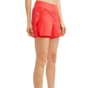 NWT  Avia women's Running Shorts Coral - Size XXXL